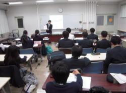 都立桜修館中等教育学校における出前授業の様子
