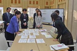 若手職員による東京の未来を考えるワークショップの様子