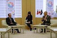 沈斯淳 台北駐日経済文化代表処代表が、表敬のため都庁を訪問されました。