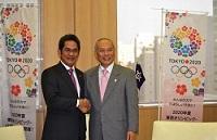 ユスロン・イザ・マヘンドラ 駐日インドネシア共和国大使が、表敬のため都庁を訪問されました。