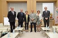 パスカル・ゴー 仏日友好議員連盟会長をはじめとするフランス国民議会仏日友好議員連盟議員団及びクリスチャン・マセ 駐日フランス大使が、知事と会談されました。