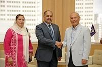 ファルーク・アーミル 駐日パキスタン・イスラム共和国大使が、表敬のため都庁を訪問されました。