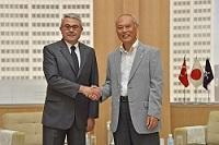 A.ビュレント・メリチ 駐日トルコ共和国大使が、表敬のため都庁を訪問されました。