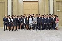 「JENESYS2.0」中国青年代表団(北京市の公務員34名)一行が、表敬のため都庁を訪問されました。
