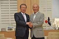 柳興洙(ユ・フンス) 次期駐日大韓民国大使が、表敬のため都庁を訪問されました。