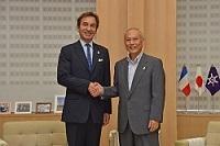 ティエリー・ダナ 次期駐日フランス大使が、表敬のため都庁を訪問されました。