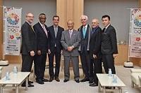エリック・ガルセッティ ロサンゼルス市長が、知事と会談されました。