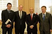 フィリップ・ブラン ジュネーヴ国際研究大学院大学学長が、表敬のため都庁を訪問されました。