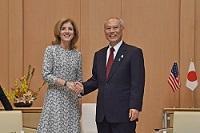 キャロライン・ケネディ 駐日米国大使が、表敬のため都庁を訪問されました。