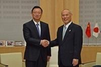 北京市の区・県友好代表団(団長:冀岩 北京市豊台区区長)が、知事と会談されました。