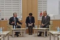 ポール・ダイトン卿 英国財務省商務長官(元ロンドンオリンピック・パラリンピック組織委員会CEO)が、知事と会談されました。