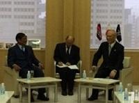 ソー・ケーン カンボジア王国副首相兼内務大臣が、知事と会談されました。