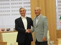 カルロス・フェルナンド・アルマダ・ロペス 駐日メキシコ大使が、表敬のため都庁を訪問されました。