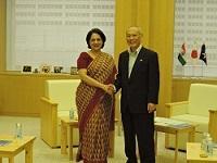 ディーパ・ゴパラン・ワドゥワ 駐日インド共和国大使が、表敬のため都庁を訪問されました。