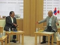 ソドブジャムツ・フレルバータル 駐日モンゴル国大使が、表敬のため都庁を訪問されました。
