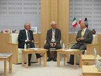 ジュリアーノ・ピサピア イタリア共和国ミラノ市長が、知事と会談されました。