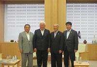 エルデネ・バトウール モンゴル国ウランバートル市長が、知事と会談されました。