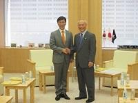 安煕正(アン・ヒジョン)忠清南道知事が、知事と会談されました。