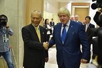 ボリス・ジョンソン ロンドン市長が、知事と会談されました。