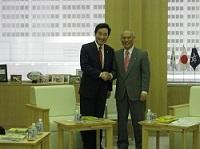 李洛淵 全羅南道知事が、知事と会談されました。
