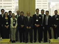 ブラジル訪日団が、表敬のため都庁を訪問されました。