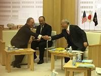 マイケル・R・ブルームバーグ前NY市長、ブルームバーグ創設者・大株主が、表敬のため都庁を訪問されました。