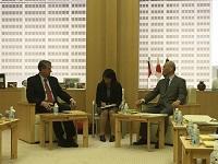 ダニロ・トゥルク 前スロベニア共和国大統領が、都知事と会談されました。