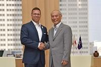 バラージュ・フリエシュ ブダペスト2024委員会委員長が、表敬のため都庁を訪問されました。