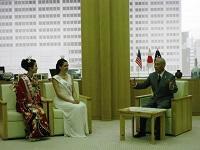 2016(第68代)全米さくらの女王のレイチェル・ボーンさんが、表敬のため都庁を訪問されました。