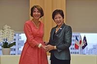 フランス共和国厚生大臣が知事を訪問されました。