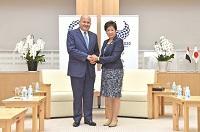 駐日エジプト大使が知事を訪問されました。