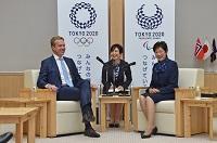 ノルウェー王国外務大臣と面会