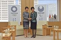 シンガポール 文化・コミュニティ・青年大臣と面会