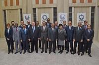 在京アラブ外交団と面会